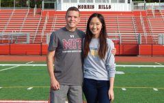 """McNally and Thepmankorn """"Knighted"""" as Valedictorian and Salutatorian!"""
