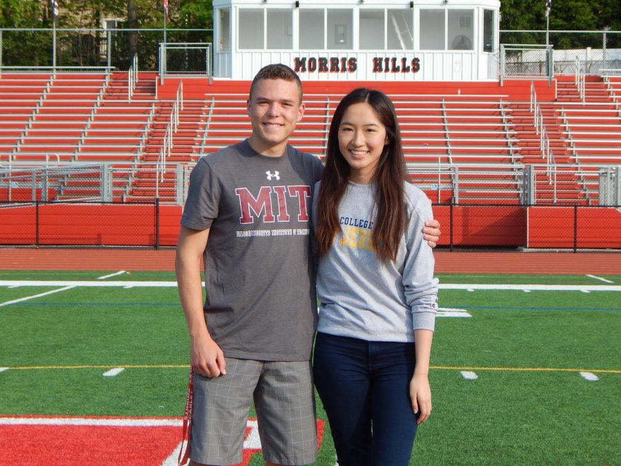 "McNally and Thepmankorn ""Knighted"" as Valedictorian and Salutatorian!"