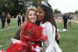 Costanzo Crowned Homecoming Queen