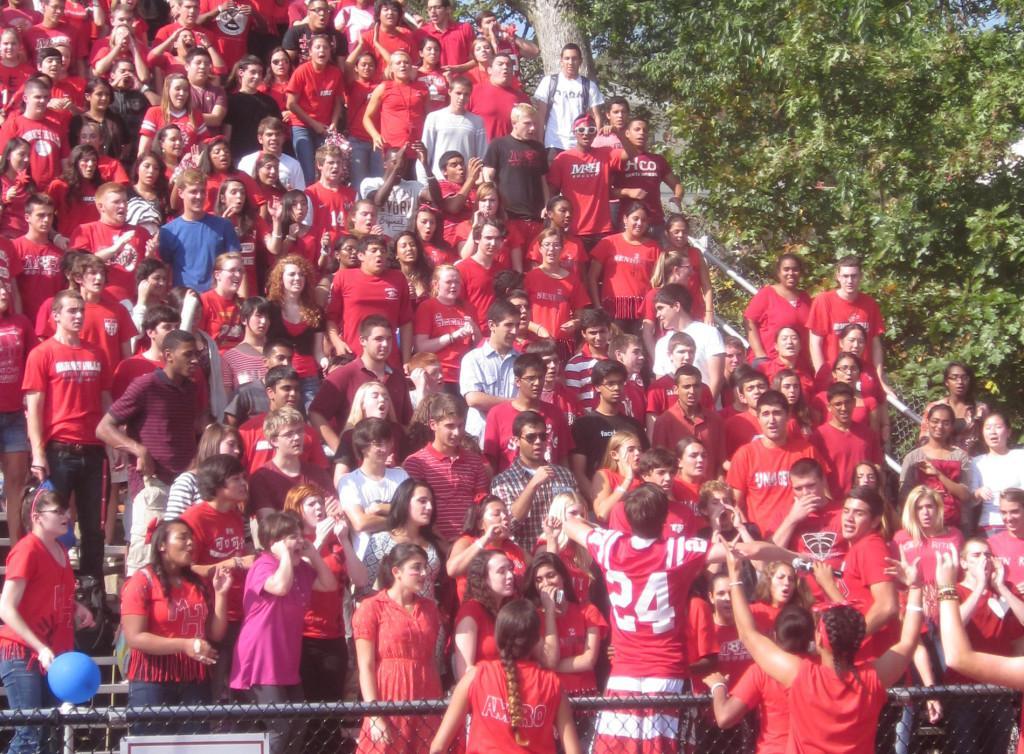 Seniors in red