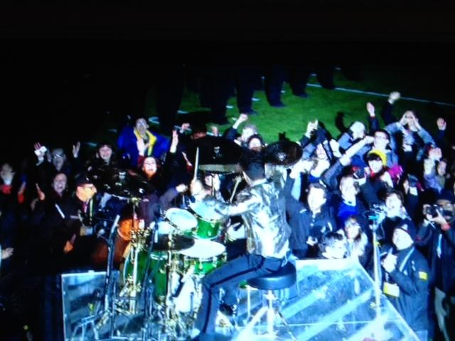 MH Music Students at Superbowl XLVIII