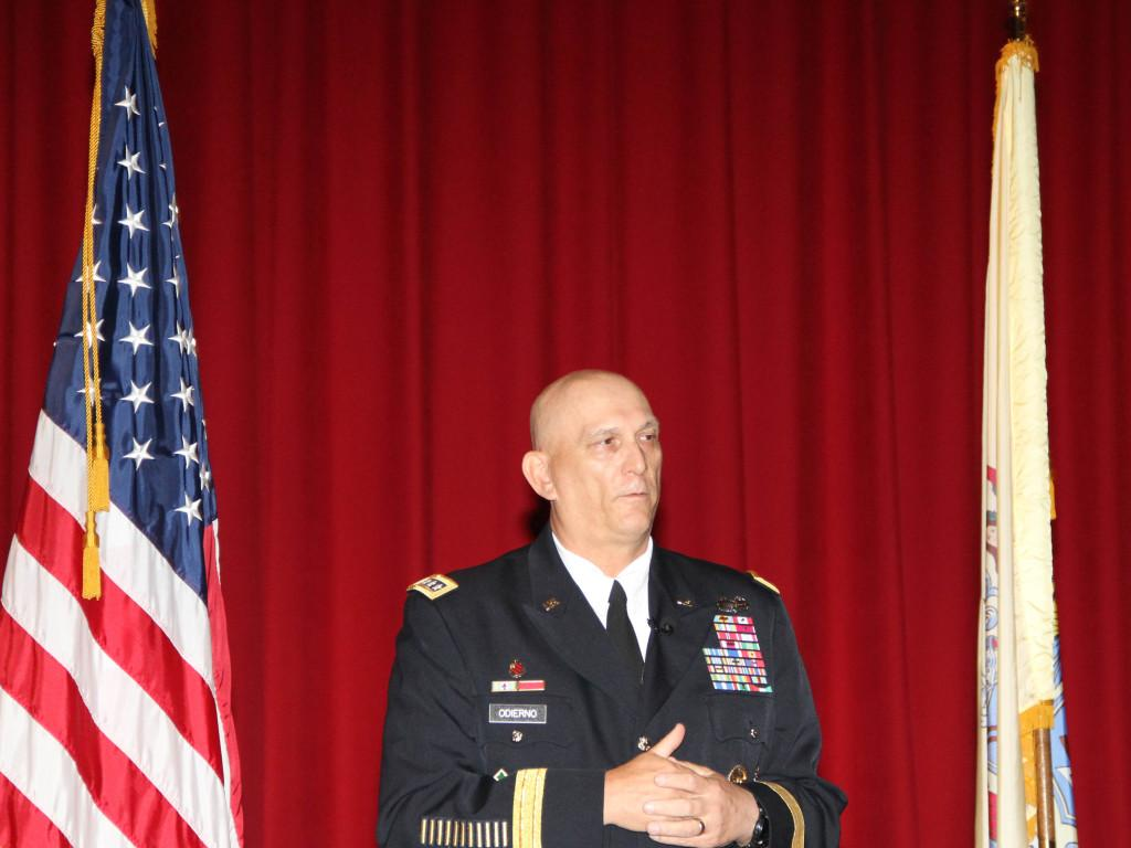 General+Raymond+T.+Odierno+visits+his+alma+mater