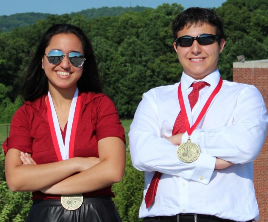 A Close Race to the Top: Hina Shah and Jesse Kass named Valedictorian and Salutatorian
