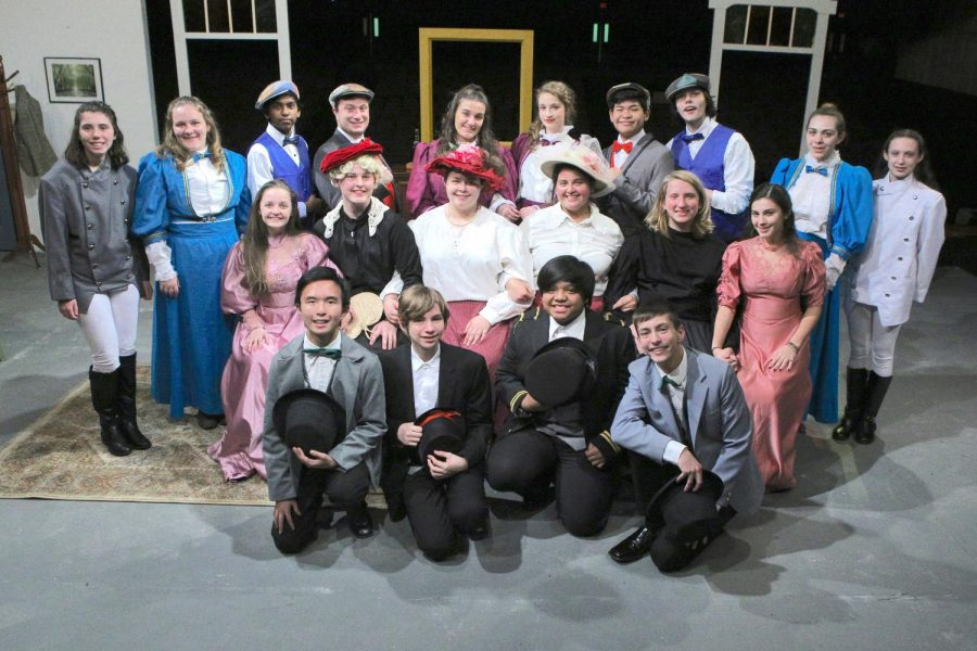 Combined+cast+of+%22Charley%27s+Aunt%22+Fall+Play