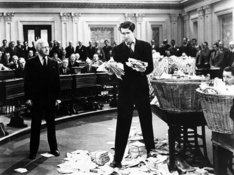 Jimmy Stewart in Mr. Smith Goes to Washington, courtesy of NPR.