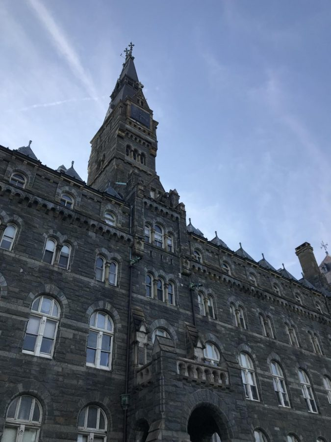 Healy Hall at Georgetown University.